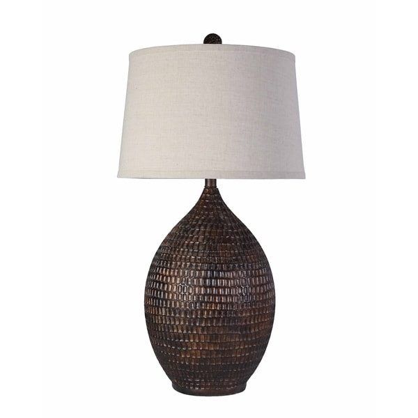 Artistic Weavers Transitional Paris Table Lamp with Bronze Finish