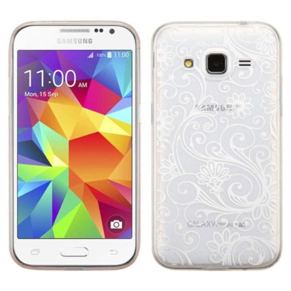 Insten TPU Rubber Candy Skin Case Cover For Samsung Galaxy Core Prime