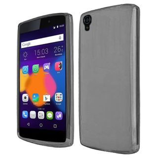 Insten Frosted TPU Rubber Candy Skin Case Cover For Alcatel One Touch Idol 3 (5.5)