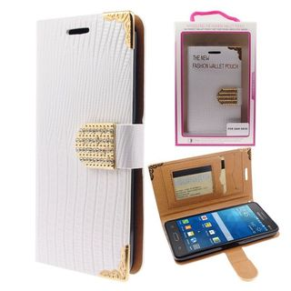 Insten Leather Case Cover with Wallet Flap Pouch/Diamond/Photo Display For Samsung Galaxy Grand Prime