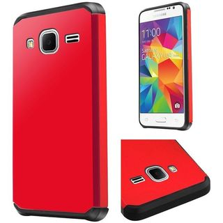 Insten Hard PC/ Silicone Dual Layer Hybrid Rubberized Matte Case Cover For Samsung Galaxy Core Prime