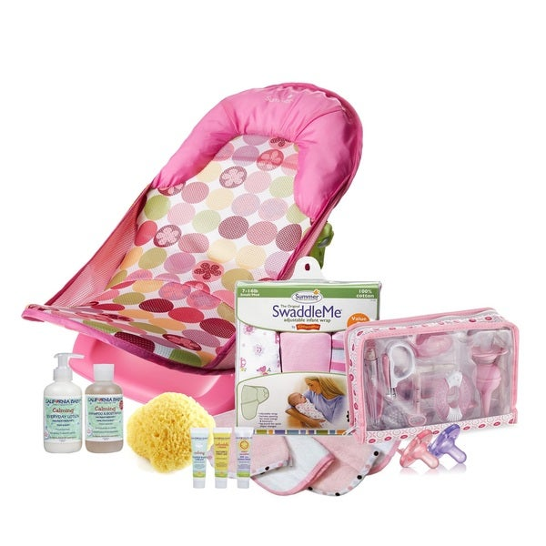 Summer Infant Deluxe Calming Baby Bath To Bed 37-Piece Set