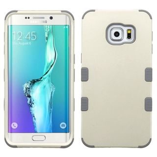 Insten Tuff Hard PC/ Silicone Dual Layer Hybrid Rubberized Matte Case Cover For Samsung Galaxy S6 Edge Plus