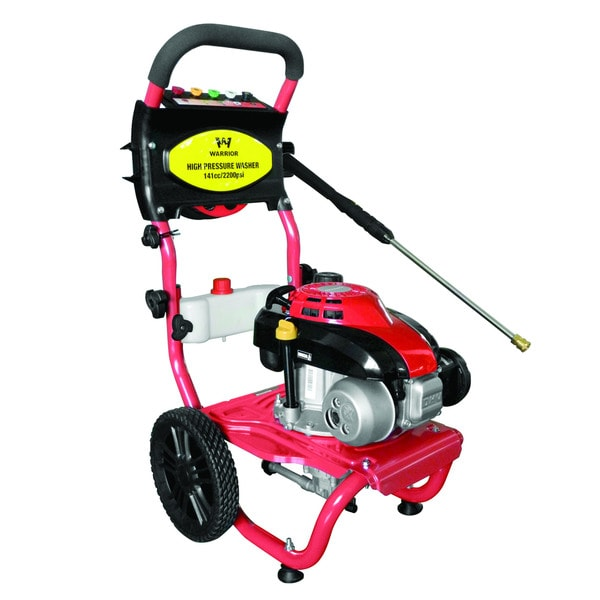 Warrior Tools Cold Water Gas Pressure Washer WR67160 2200 PSI 2.0GPM 141CC
