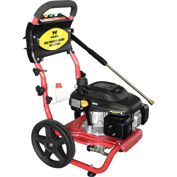 Warrior Tools Cold Water Gas Pressure Washer WR67150 3000 PSI 2.3GPM 196CC