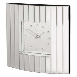 Selections by Chaumont Deco I Mirror Glass Clock