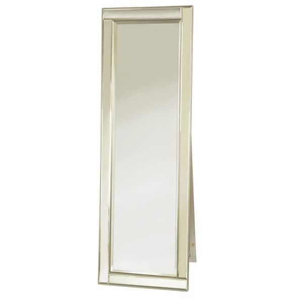 Selections by Chaumont Belgravia Silver Floor Mirror