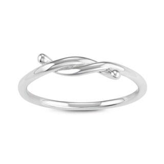 La Preciosa Sterling Silver Twist Ring