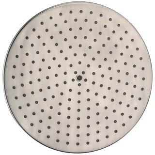"Dawn® Single Function 10"" Round Rain Showerhead, Brushed Nickel"