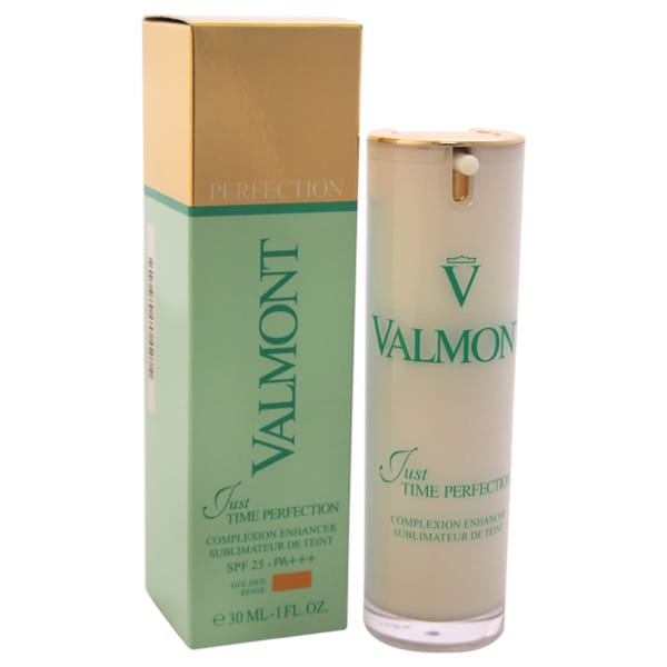 Valmont Just Time Perfection Anti-Aging 1-ounce Complexion Enhancer SPF Golden Beige