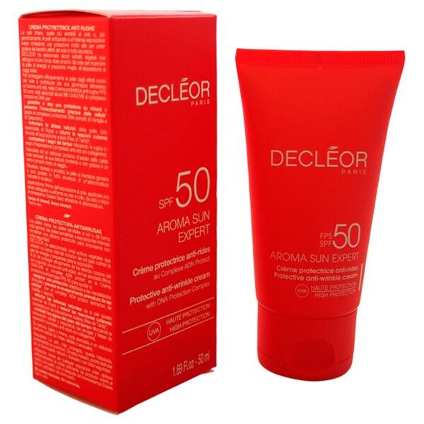Decleor Aroma Sun Expert Protective 1.69-ounce Anti-Wrinkle Cream SPF 50