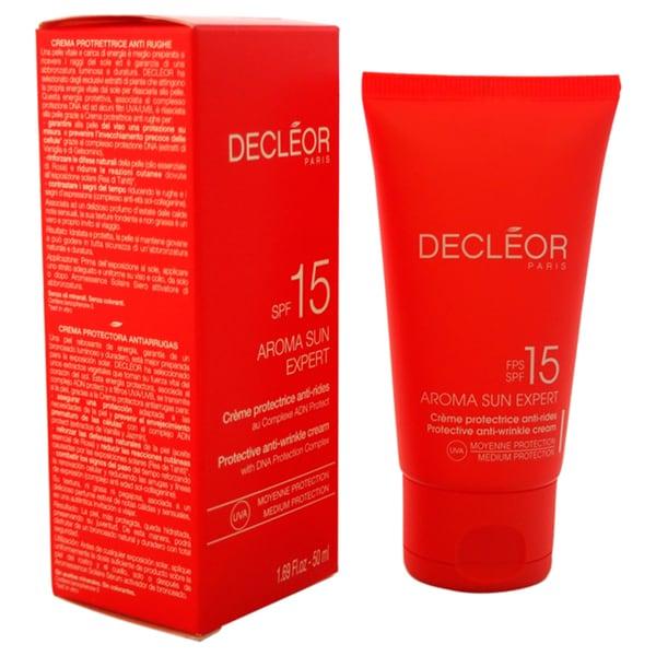 Decleor Aroma Sun Expert Protective 1.69-ounce Anti-Wrinkle Cream SPF 15