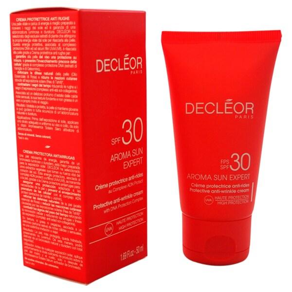 Decleor Aroma Sun Expert Protective 1.69-ounce Anti-Wrinkle Cream SPF 30