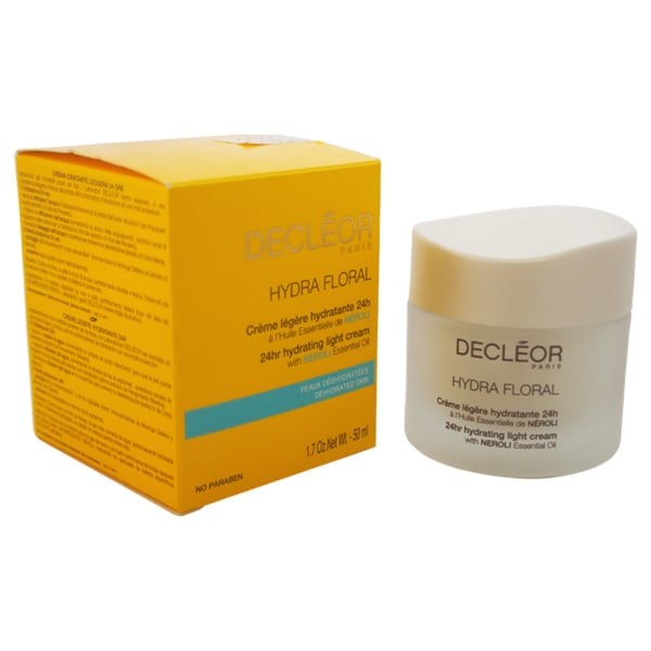 Decleor Hydra Floral 24hr Hydrating Light Cream 1.7-ounce Cream