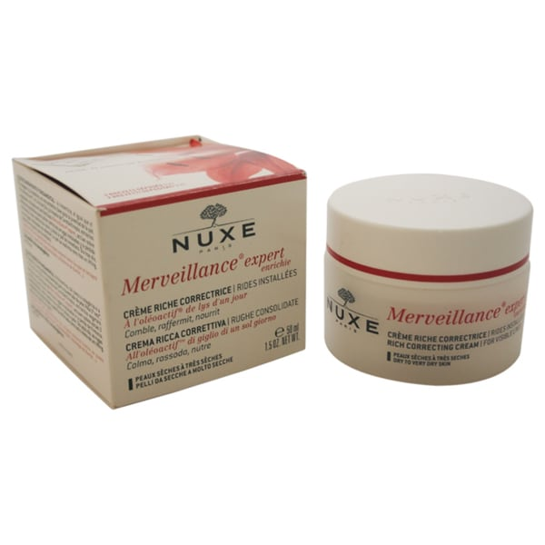 Nuxe Merveillance Rich 1.5-ounce Correcting Cream for Dry to Very Dry Skin