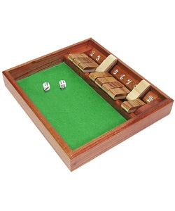 Shut the Box Dice Game Zero Out 1-10