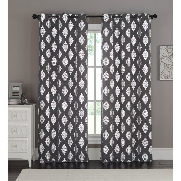 VCNY Sorrento Curtain Panel Pair