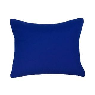 Cobalt Blue Indoor/ Outdoor 13x20-inch Throw Pillows (Set of 2)