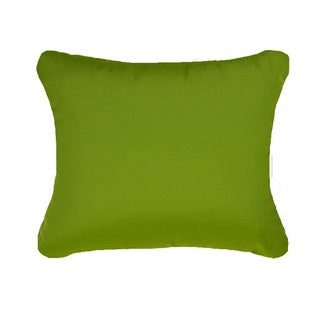 Citrus Green Blue Indoor/ Outdoor 13x20-inch Throw Pillows (Set of 2)