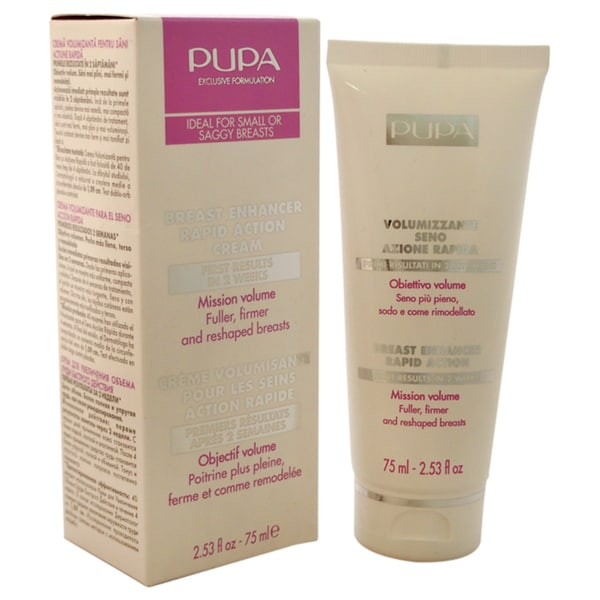 Pupa Milano Breast Enhancer 2.53-ounce Rapid Action Cream