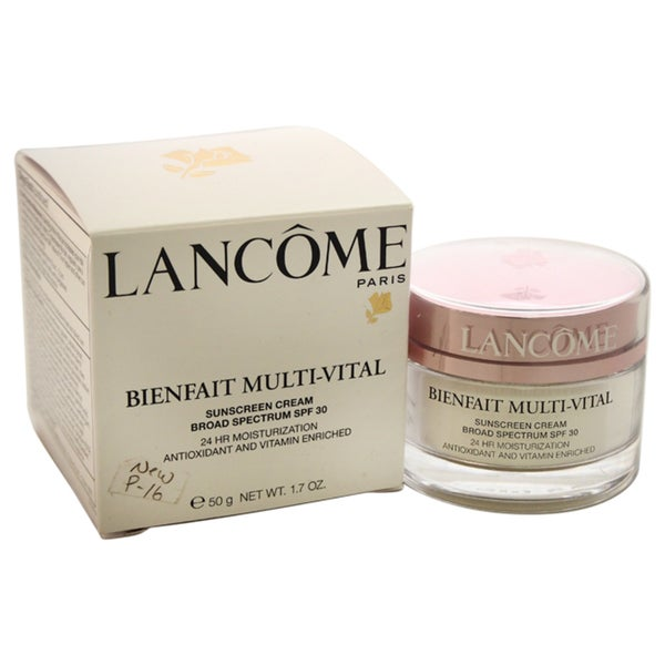 Lancome Bienfait Multi-Vital SPF 30 1.7-ounce Cream