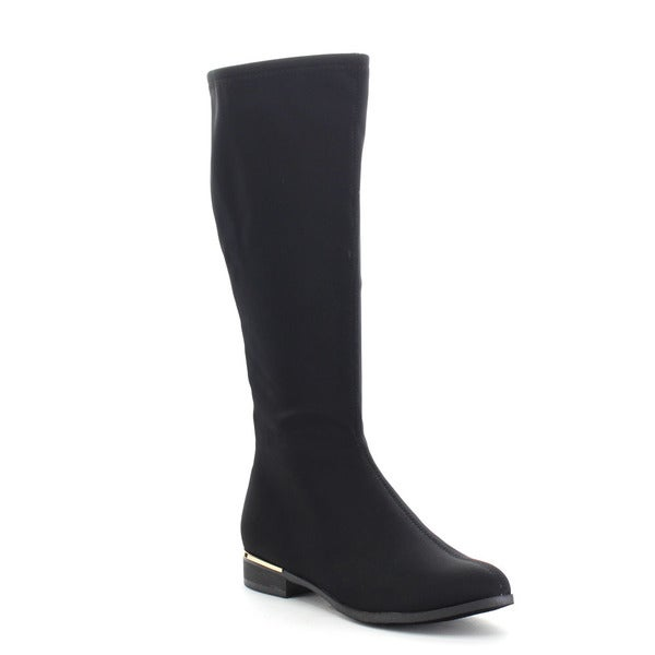 LILIANA ULTIMO-2 Women's Low Heels Back Zipper Knee High Riding Boots