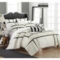Chic Home Firenze Black 7-piece Comforter Set