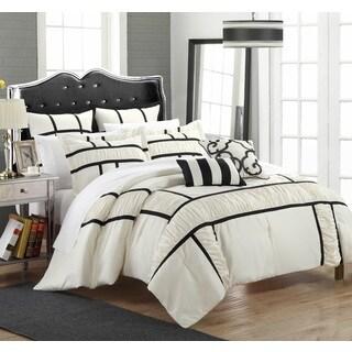 Chic Home Firenze Black 11-piece Comforter Set