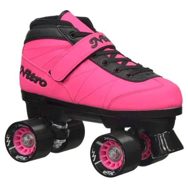 Epic Nitro Turbo Pink Quad Speed Roller Skates