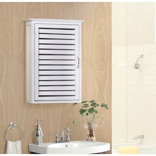 Gallerie Decor Natural Spa Bamboo Wall Cabinet