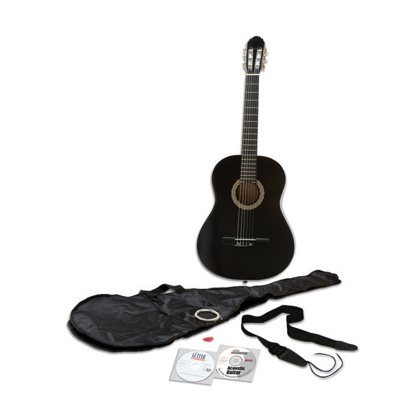eMedia Essential Guitar Pack with Nylon-string Acoustic Guitar, CD-ROM, and DVD (Win/ Mac) 16895344