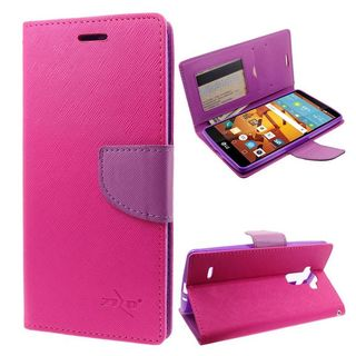 Insten Leather Case Cover with Stand/Wallet Flap Pouch/Photo Display For LG G Stylo
