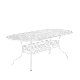Home Styles Floral Blossom II Oval Dining Table