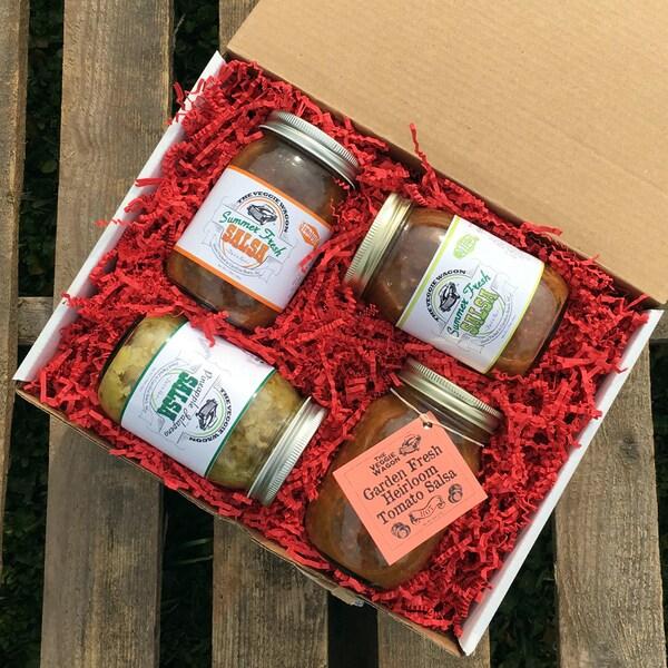 Veggie Wagon Salsa Sampler Gift Set