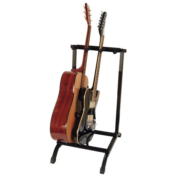 3-Space Foldable Multi-Guitar Rack
