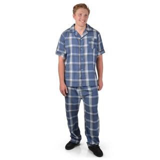 Vance Co. Men's 2-pc Short-sleeve Pajama Sets