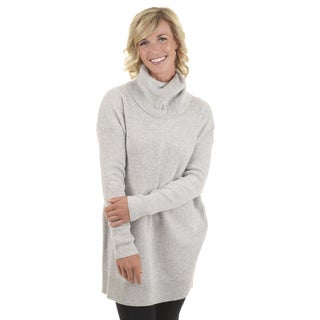 Journee Collection Women's Turtle Neck Long-sleeve Sweater