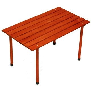 Portable Small Low Wood Table