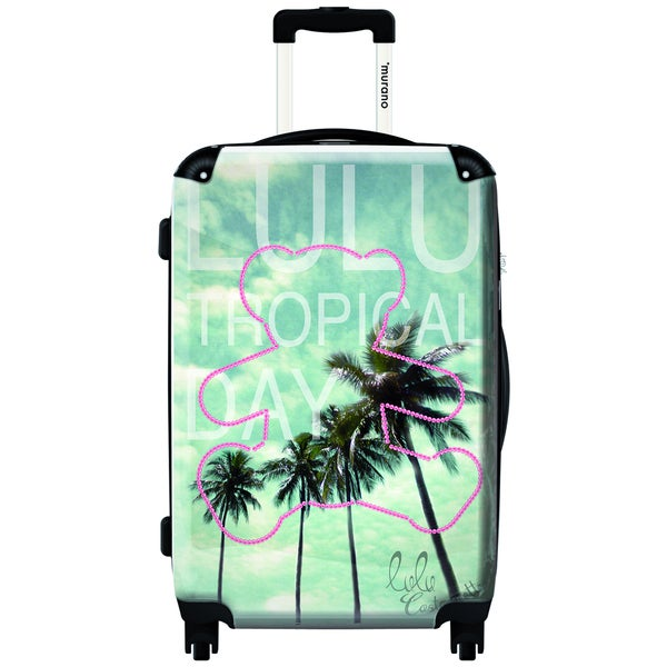 Murano Tropical Day by Lulu 20-inch Carry On Hardside Spinner Suitcase