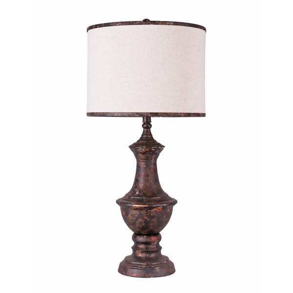 Bombay Outlet Iona Aged Bronze Table Lamp