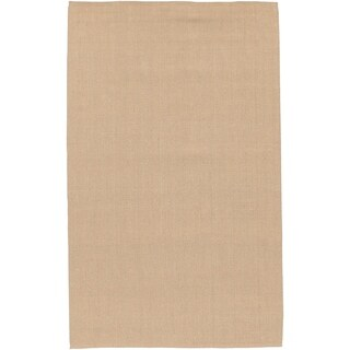 Hand-woven Natural Jute Rug (5' x 8')