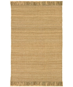 Hand-woven Natural Fiber Jute Rug (6' Round)