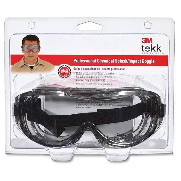 Tekk Protection Chemical Splash/Impact Goggles - 1/BX
