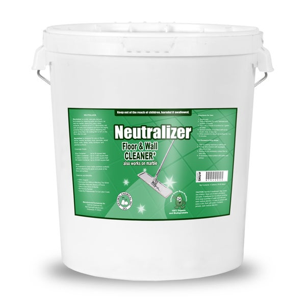 Neutralizer - Streak Free All Purpose Floor Cleaner & Degreaser - Non Toxic Multi Surface Cleaner, 5 Gallon