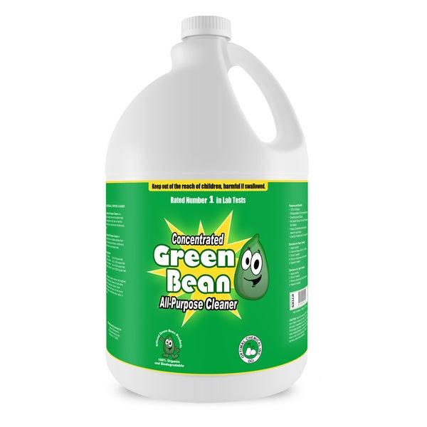 Green Bean All Purpose Cleaner - Non Toxic Heavy Duty Degreaser, 1 Gallon