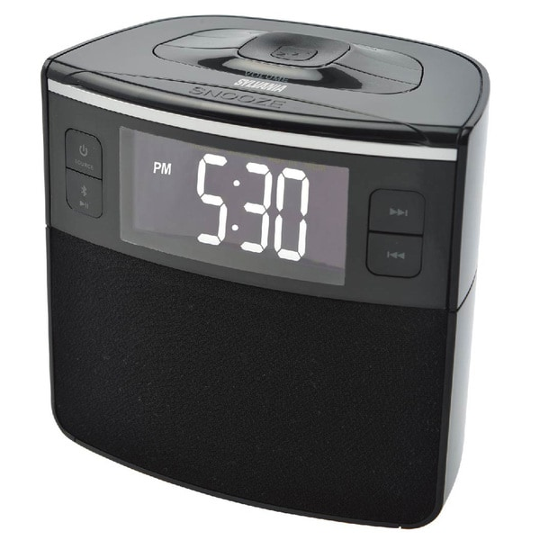 Sylvania Scr1986bt Bluetooth Clock Radio with Usb Charging and Dual Alarm (Refurbished)