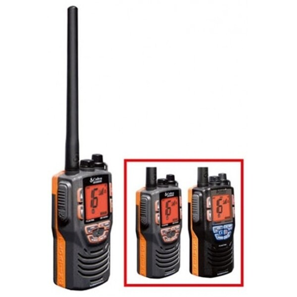 Cobra Mr Hh330 Flt Vhf Waterproof Two-way Marine Radio (Refurbished)