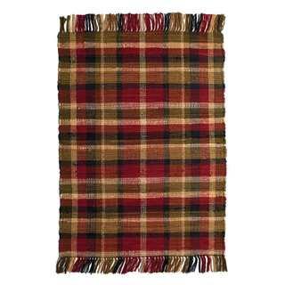 Williamsburg Cotton Woven Rug (1'8 x 2'6)