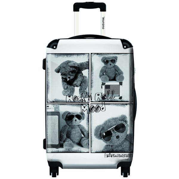 Murano Rock n Roll Mood 20-inch Carry On Hardside Spinner Suitcase