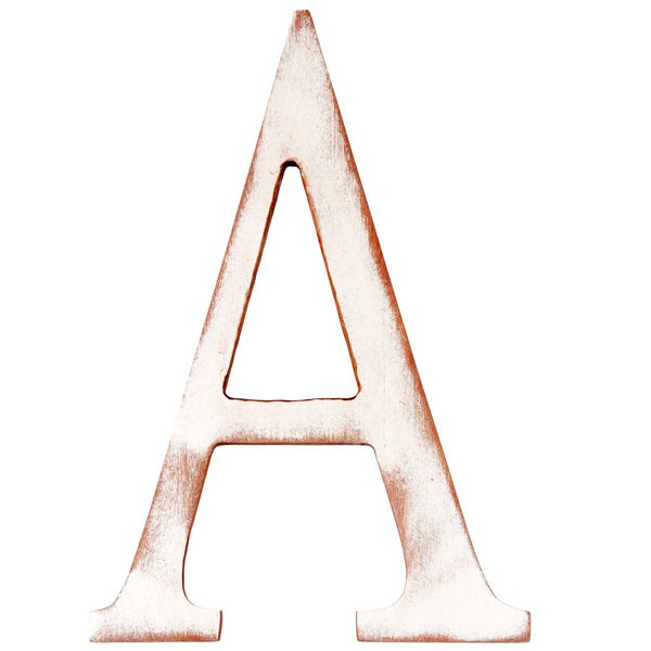 Mahogany Letter A